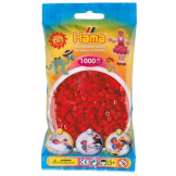 Hama Beads 1000pc Bag Dark Red