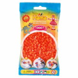 Hama Beads 1000pc Bag Orange