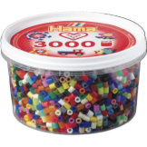 Hama Beads 3000pc Tub