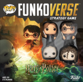 Funkoverse Harry Potter 4 Pack Base Game