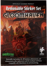 Gloomhaven Removable Stickers