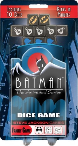 Batman Animated Series Dice Game