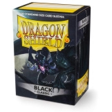 Dragon Shield Sleeves Black 100ct