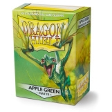 Dragon Shield Sleeves Matte Apple Green 100ct