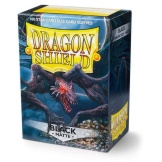 Dragon Shield Sleeves Matte Black 100ct