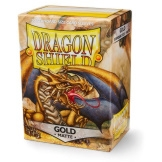 Dragon Shield Sleeves Matte Gold 100ct