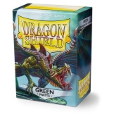 Dragon Shield Sleeves Matte Green 100ct