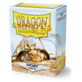 Dragon Shield Sleeves Matte Ivory 100ct