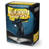 Dragon Shield Sleeves Matte Jet 100ct