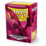 Dragon Shield Sleeves Matte Magenta 100ct
