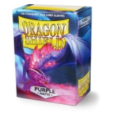 Dragon Shield Sleeves Matte Purple 100ct