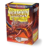 Dragon Shield Sleeves Matte Red 100ct