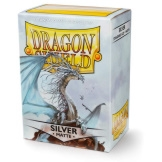 Dragon Shield Sleeves Matte Silver 100ct