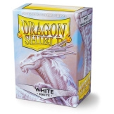 Dragon Shield Sleeves Matte White 100ct