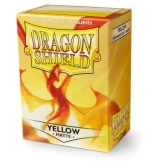 Dragon Shield Sleeves Matte Yellow 100ct