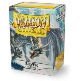 Dragon Shield Sleeves Silver 100ct