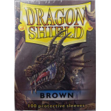 Dragon Shield Sleeves Brown 100ct