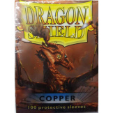 Dragon Shield Sleeves Copper 100ct