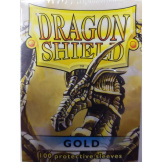 Dragon Shield Sleeves Gold 100ct