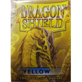 Dragon Shield Sleeves Yellow 100ct