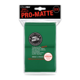 Ultra Pro Deck Protectors Matte Green 100CT