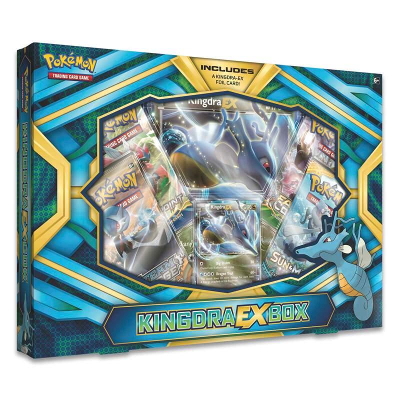 Pokemon Kingdra GX Box
