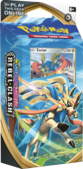 Rebel Clash S&S Theme Deck - Zacian