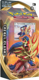 Rebel Clash S&S Theme Deck - Zamazenta
