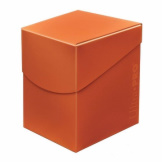 Deck Box Eclipse Pumpkin Orange 100+
