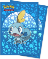 Deck Protectors Pokemon Sword & Shield Galar Starters Sobble 65CT