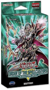Yu-Gi-Oh Structure Deck Order Of The Spellcasters