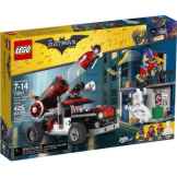 LEGO DC Batman Movie Harley Quinn Cannonball Attack