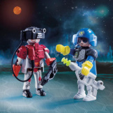 Playmobil Space Policeman & Thief Duo Pack
