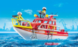 Playmobil Fire Rescue Boat