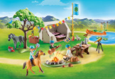 Playmobil Spirit III Frontier Fillies Camp