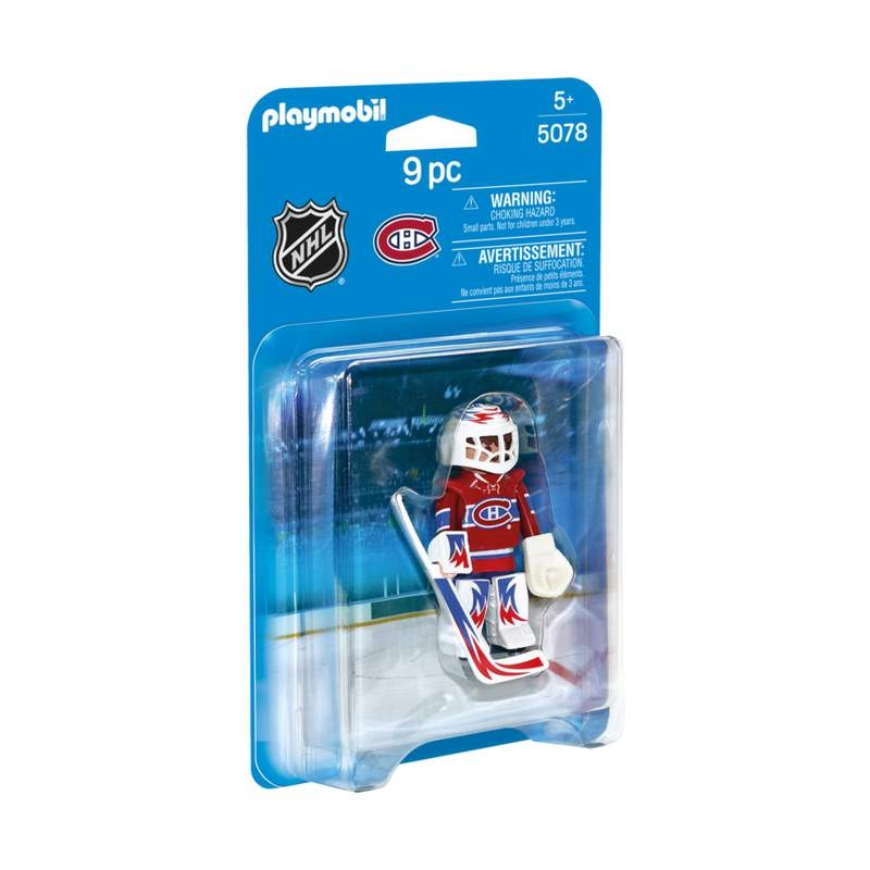 Playmobil NHL Montrel Canadiens Goalie