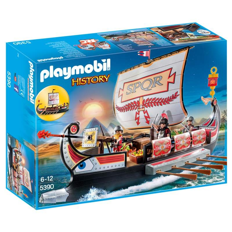 Playmobil Roman Warriors' Ship