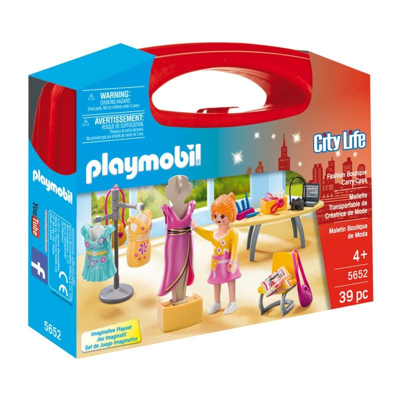 Playmobil Fashion Boutique Carrying Case