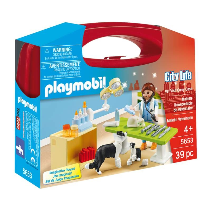 Playmobil Vet Visit Carrying Case