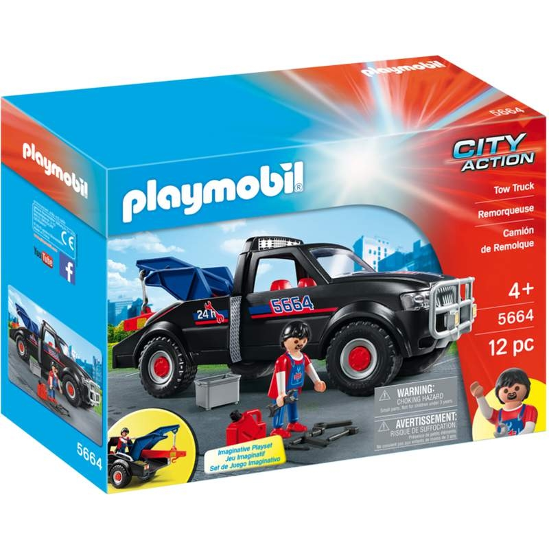 Playmobil Tow Truck