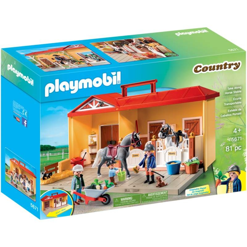 Playmobil Take Along Horse Farm