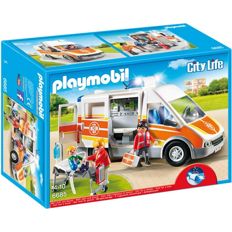 Playmobil Ambulance With Lights & Sounds