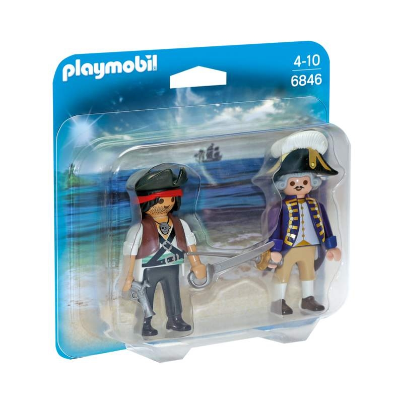 Playmobil Pirate And Soldier Duo Pack
