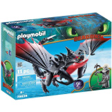 Playmobil How To Train Your Dragon Deathgripper with Grimmel