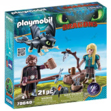 Playmobil How To Train Your Dragon Hiccup & Astrid with Baby Dragon