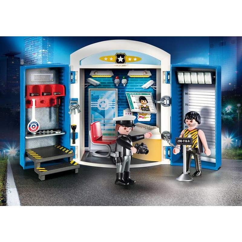 Playmobil Police Station Playbox