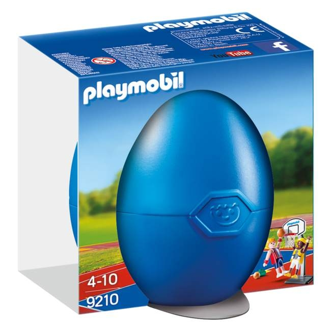 Playmobil Egg One on One Basketball