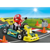 Playmobil Carrying Case Go-Kart Racer