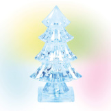 Lit Ice Castle Tree