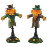 lit Scarecrow Lamps